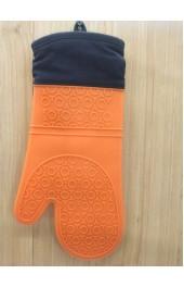 Жаропрочная перчатка из силикона для пикника и кухни Orange