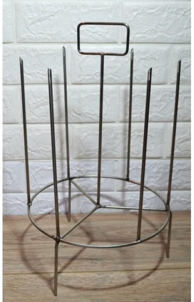 Шампурница из нержавеющей стали для тандыра с горловиной диаметром 250 мм