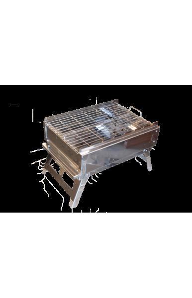 Разборной мангал-барбекью мастер с функцией гриля из нержавеющей стали 3 мм купить в Харькове с доставкой по Украине