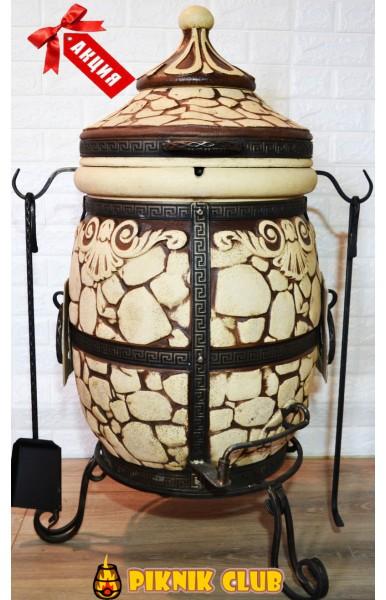 """""""Камень"""" средний,цвет античный камень,поворотная крышка+комплектация на 1000 грн!"""