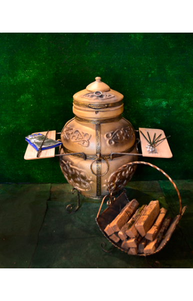 Ретро Акрил печь тандыр диаметр горловины 85 литров