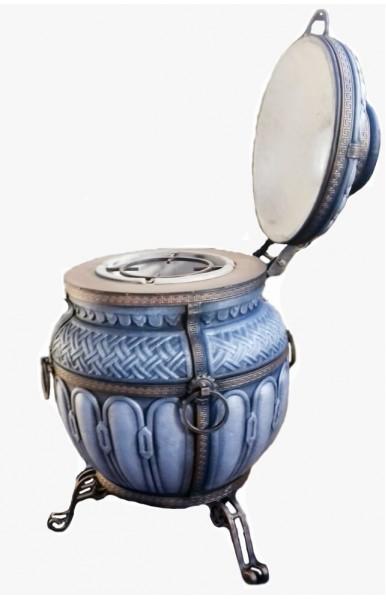 """Тамерлан"" утепленный средний 140 литров цвет серебро"