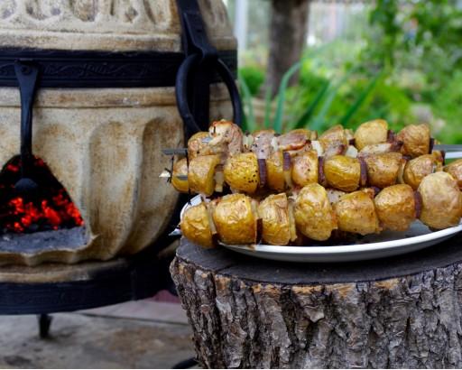 картошка в тандыре